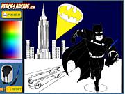 Batman da Colorare Online