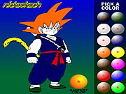 Dragon Ball da Colorare e Stampare Online