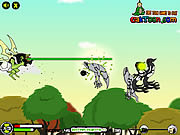 Gioco online Giochi di Ben 10 Ultimate Alien - Ben 10 Sky Battle
