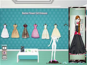 Giochi di Barbie da Vestire - Barbie Flower Girl Dresses