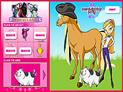 Giochi di Cavalli per Ragazze - Horseland Dress up