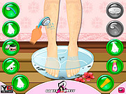 Giochi di Ceretta Online - Beauty Leg Makeover