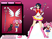 Giochi di Sailor Moon - Sailor Moon da Vestire