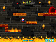 Giochi di Super Mario Flash - Mario Fire Adventure