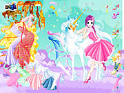 Giochi di Unicorni - Fairy and the Unicorn Dressup