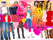 Giochi di Vestire Modelle - Rock Style Dress Up