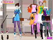 Gioco online Giochi di Violetta - School Girl Dress Up