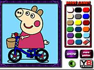 Peppa Pig Da Colorare Codice Per Inserire Gratis Il Gioco Nel